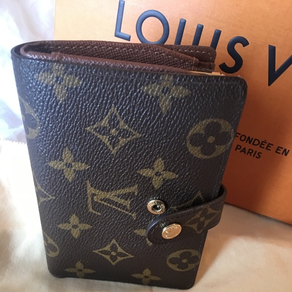 51e27bd77b8a Louis Vuitton Handbags - LOUIS VUITTON FRENCH WALLET MONOGRAM MADE N FRANCE